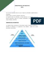 Administracion Por Objetivos_trabajo Escrito