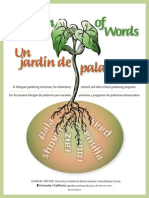 A Garden of Words English to Spanish
