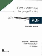 Culegere  - English Grammar and Vocabulary