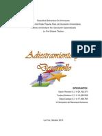 Administracion y Desarrollo