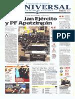 GCPRESS. PORTADAS MEDIOS NACIONALES EN MÉXICO-MIER-15-ENE-2014