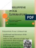 Philippine Folk Literature