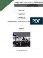 Compte-rendu CPAA Gilles Babinet 11 décembre 2013