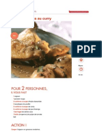 Poulet Curry Express