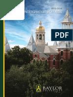 Undergraduate Catalog 2013-14
