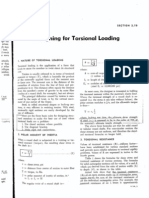 Designing for Torsional Loading(From Design of Welded Structure)