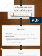 Desarrollo Histórico del Evangelio en Nicaragua