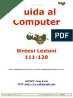 Guida al Computer - Sintesi Lezioni 111-120