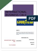 Goodyear India