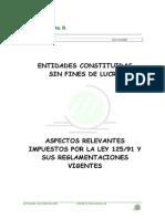 Entidades Sin Fines de Lucro. Domingo German Acosta
