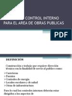 Normas de Control Interno Para El Area De