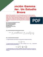 La Funcion Gamma de Euler