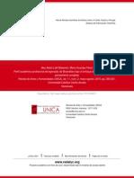 Perfil académico-profesional del egresado de Bioanálisis