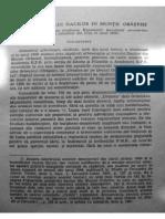 Daicoviciu C. - Studiul Traiului Dacilor in Muntii Orastiei