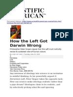 How the Left Got Darwin Wrong- Van Valen -2000