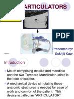Articulators in prosthodontics