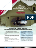 UDAP/UDAS Reznor Gas Fired Unit Heaters Brochure