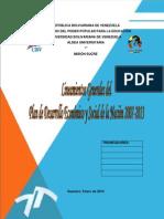 Lineamientos Generales Del Plan 2007-2013