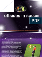 Offsides in Soccer