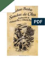 Basho Matsuo Senda de Oku