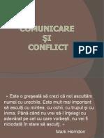 Comunicare Si Conflict Prezentare Powerpoint