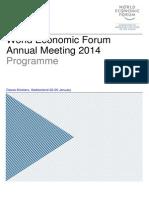 Wef 2014 Programa