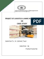 Project of Logistics