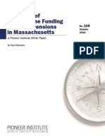 The Costs of Delaying the Funding of Public Pensions in Massachusetts JAN 2014
