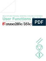 User Functions Guide 351c