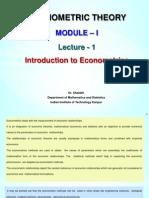 Lecture1-Module1-Econometrics
