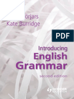 Introducing English Grammar Borjars Burridge