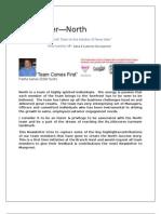 North Branch Newsletter