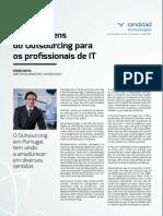 Vantagens do Outsourcing para profissionais de TI