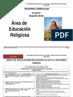 Educación Religiosa 2º Grado RUTAS