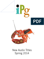 IPG Spring 2014 New Audio Titles
