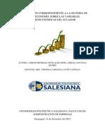 Investigacion Variables Macroeconomicas