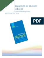 Guía a la redacción en el  EStilo APA (6ta edición)