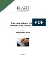 Guía para la elaborar citas referenciales en formato APA
