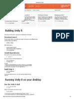 Developing Unity 8