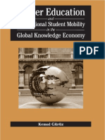 Kemal Gnrnz Higher Education and International Student Mobility in the Global Knowledge Economy 2008 (1)