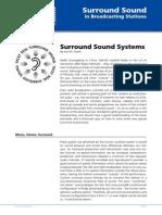 NTi Audio AppNote Surround Sound in Broadcast