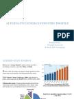 Alternative Energy-Industry Profile