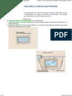 7. Estructuras Para La Toma de Agua Principal