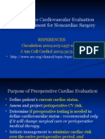 Perioperative Cardiovascular Evaluation Dr Gage 3-22-2004