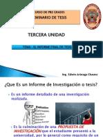 El Informe de Tesis2