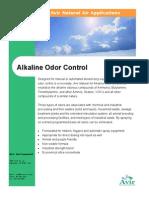 Alkaline Odor Control