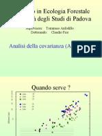 Analisi della covarianza (ANCOVA)