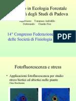 14° Congresso Federazione Europea delle Società di Fisiologia Vegetale