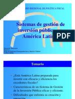 Sistemas de Inversión Pública en América Latina - ILPES - Eduardo Aldunate