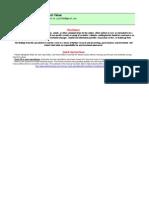 Microsoft MSFT Stock Valuation Calculator Spreadsheet